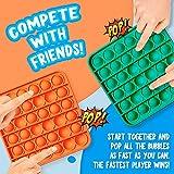 MATICAN Push Pop Fidget Toy, 12-Pack Push Pop
