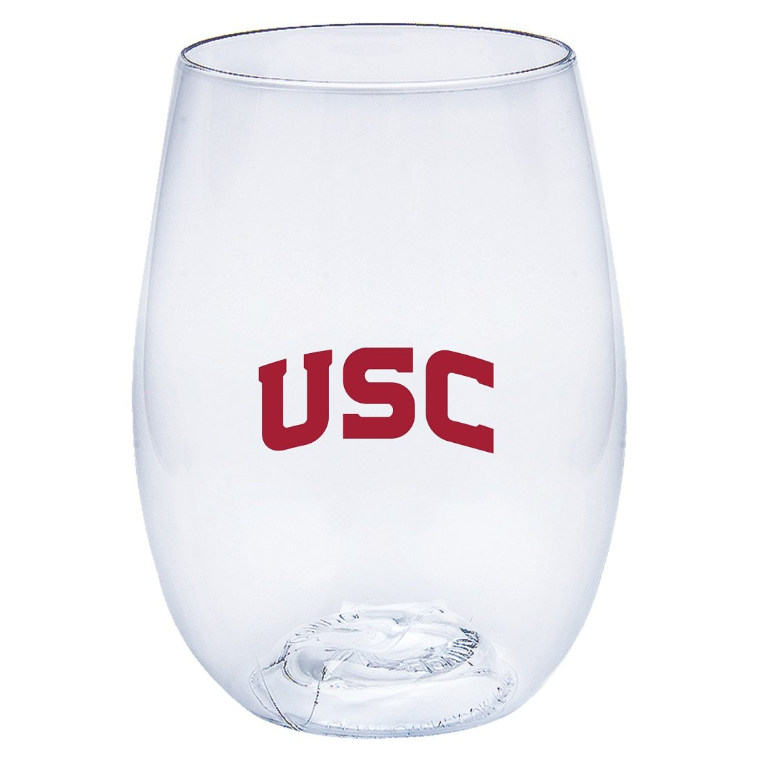 University of Southern California Trojans Govino Shatterproof Wine or Beverage Glass