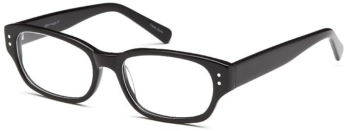 Amazon.com: Womens Wayfarer Glasses Frames Black Prescription ...
