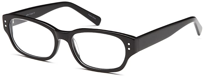 c8edc1999a Image Unavailable. Image not available for. Color  Womens Wayfarer Glasses  Frames Black Prescription Eyeglasses ...