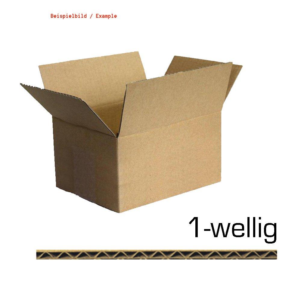 75er 75er 75er Pack Faltkarton K10 - 300 x 300 x 300mm 1-wellig Verpackungskarton B01BFGPOE4 | Hohe Qualität Und Geringen Overhead  86f922