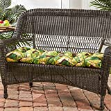 #8: Greendale Home Fashions Indoor/Outdoor Swing/Bench Cushion