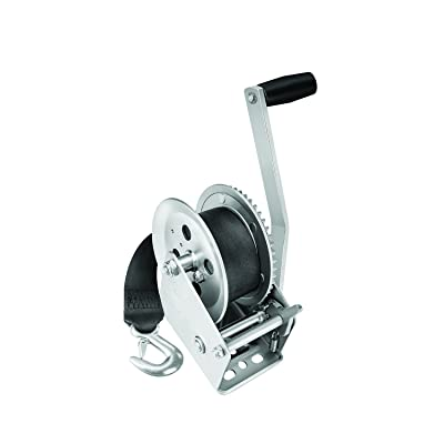Fulton 142305 Single Speed Winch with 20' Strap-1800 lbs. Capacity: Automotive