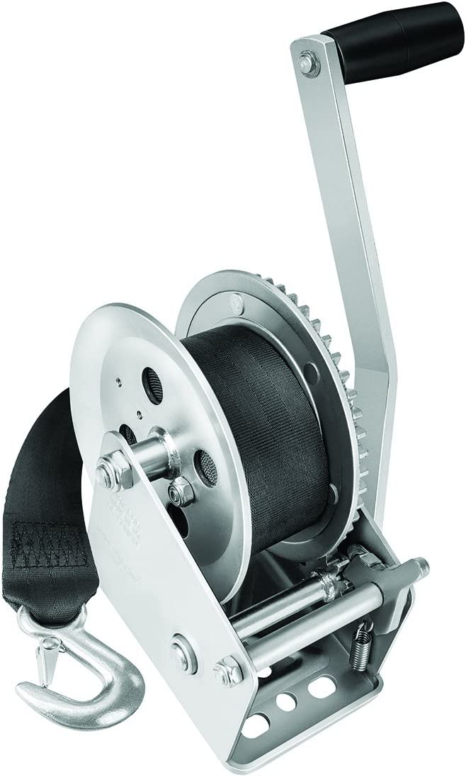 1800lb Fulton Single Speed Winch w//20/' Strap
