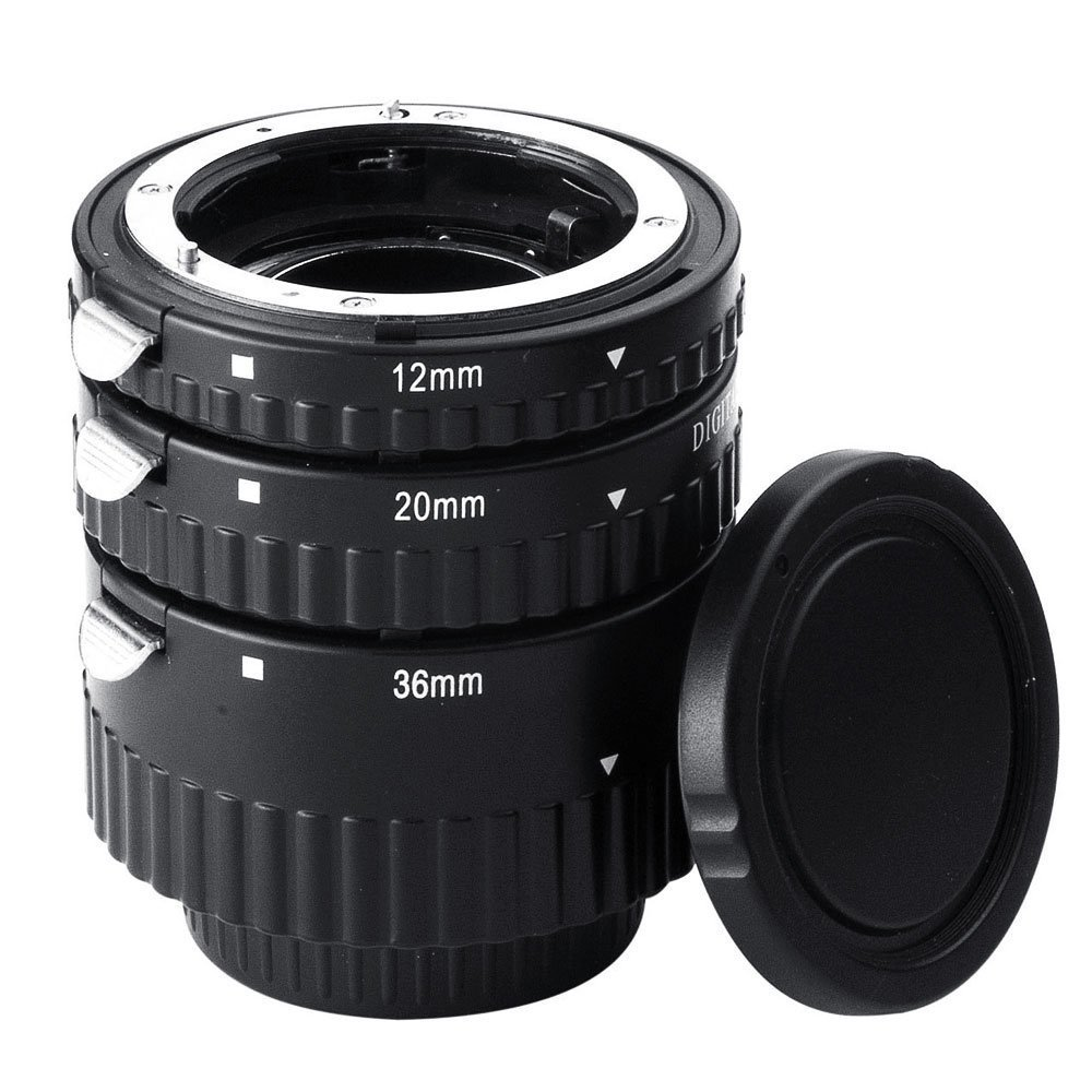 Mcoplus Extnp Auto Focus Macro Extension Tube Set for Nikon AF AF-S DX FX SLR Cameras by Mcoplus