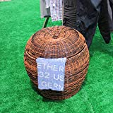 YZL/ Rattan laundry hamper/basket of dirty clothes storage baskets/storage/large laundry basket/clothes/dirty clothes storage barrels barrels