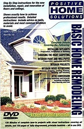 amazon com basic home remodeling home improvement dvd positive