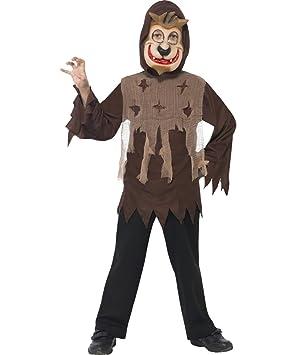 Smiffys - Disfraz de monstruo lobo infantil, talla única (35931 ...