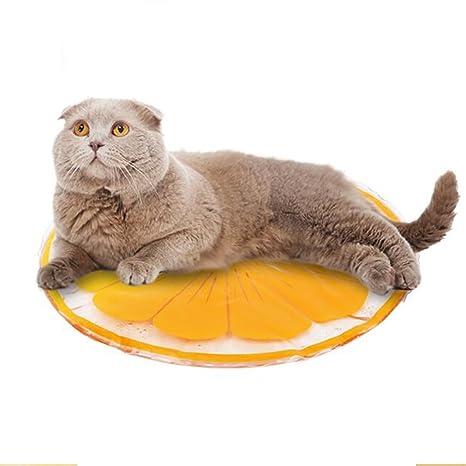 Lh Mascotas Perro Gato Cool Mat Self Gel de Enfriamiento Colchoneta Colchón de la Cama Colchón