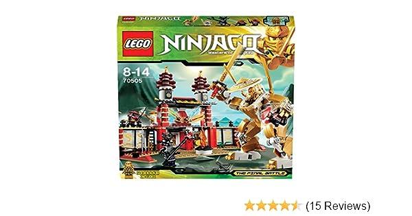Amazoncom Lego Ninjago Temple Of Light 70505 Discontinued By