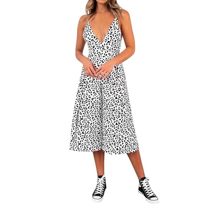 Casual Jumpsuit Plus Women Elastic Waist Beam Foot Striped V Neck Pants Playsuit Jumpsuits & Rompers