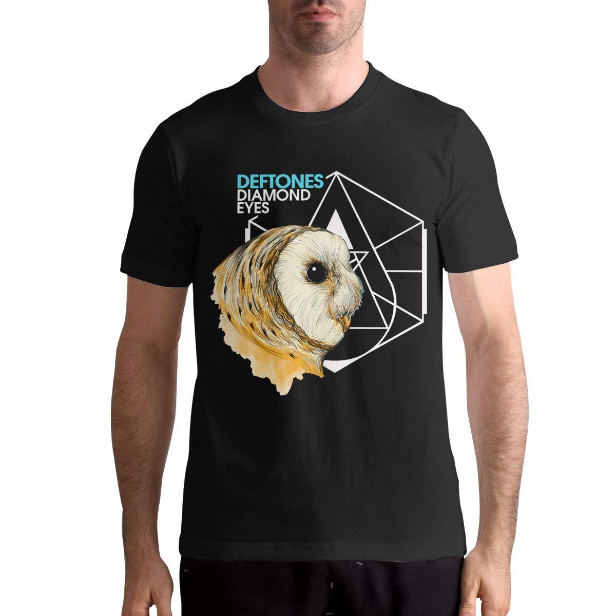 Deftones T Shirt Casual Personality Fashion Short Sleeved Shirt