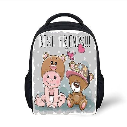 ef2b40da50e6 Amazon.com  iPrint Kids School Backpack Butterflies