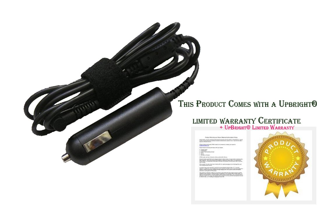 UpBright NEW Car DC Adapter For 12.1'' Motion Computing J3600 T008 Rugged Tablet PC Auto Vehicle Boat RV Cigarette Lighter Plug Power Supply Cord Charger Cable PSU