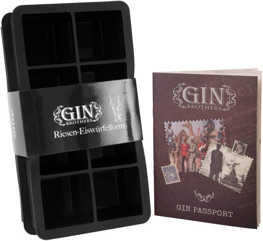 Compra con Gratis Gin Tonic Recetas – 2ER Pack XXL de hielo forma ...