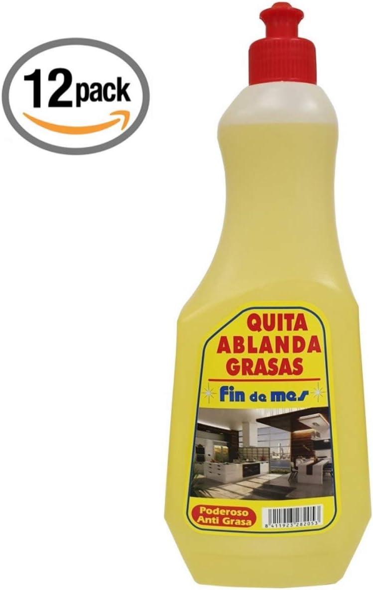 Envio 24h 12x 1L Desengrasante Usos: Horno, cocinas, terrazos, Azulejos, Muebles de jardín, grafitis y 1000 usos mas.: Amazon.es: Hogar