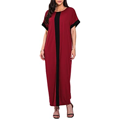 8c09677186ba Amazon.com  KennsGations Women Plus Size 3XL 4XL 5XL Dresses ...