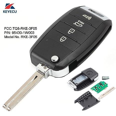 Amazon.com: keyecu mando a distancia de repuesto llavero 315 ...