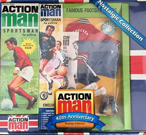 Arsenal /& West Ham Action Man 40th Paperwork Famous Football Clubs; Liverpool