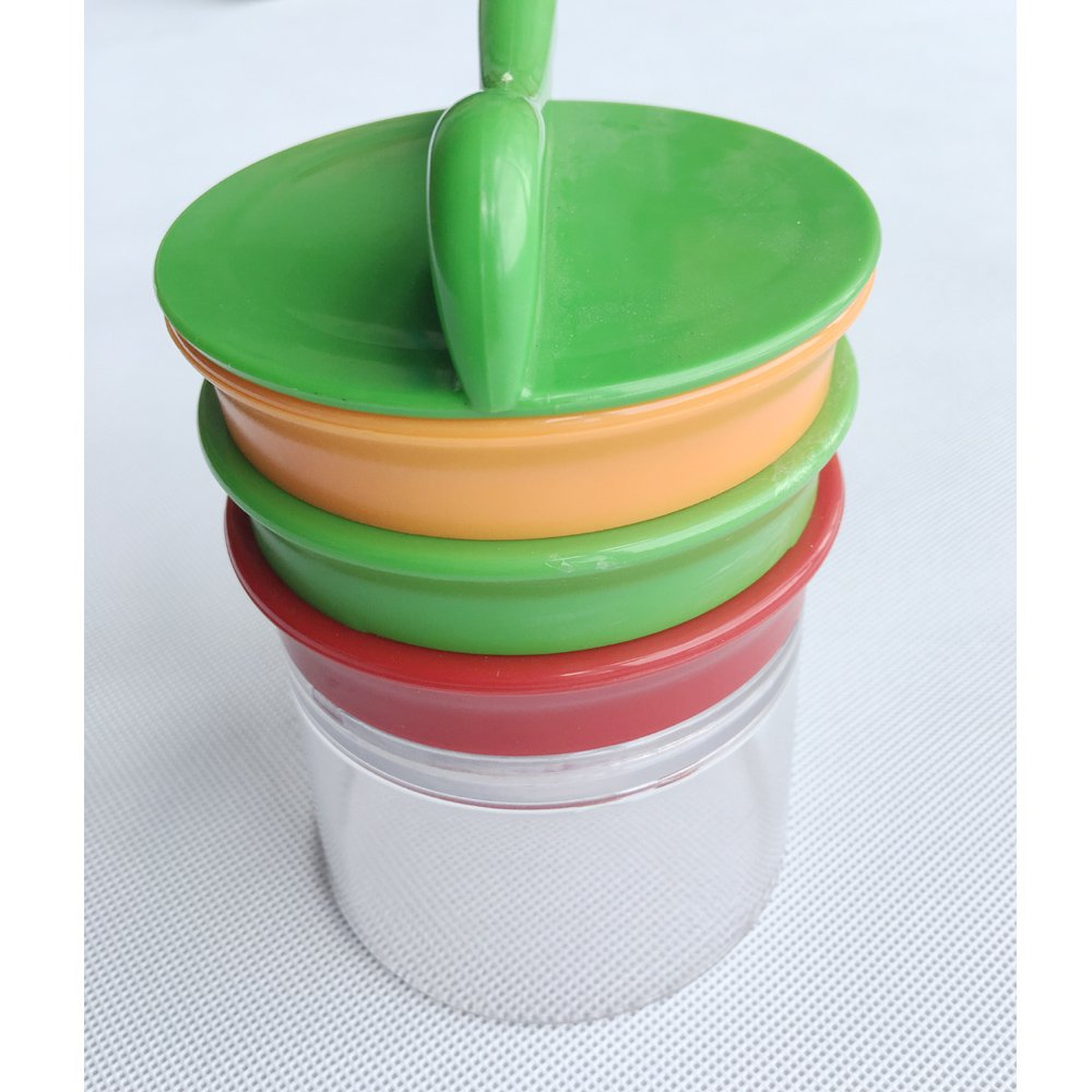 Handheld Spiralizer Vegetable Slicer-Veggie Spiral Cutter- Zucchini Pasta Noodle Spaghetti Maker including 3 Stainless Steel Blades