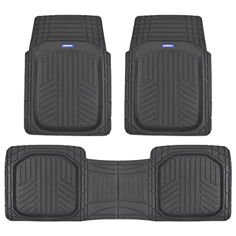Suv Floor Mats >> Amazon Com Acdelco Acof 933 Bk Deep Dish All Climate Rubber Floor