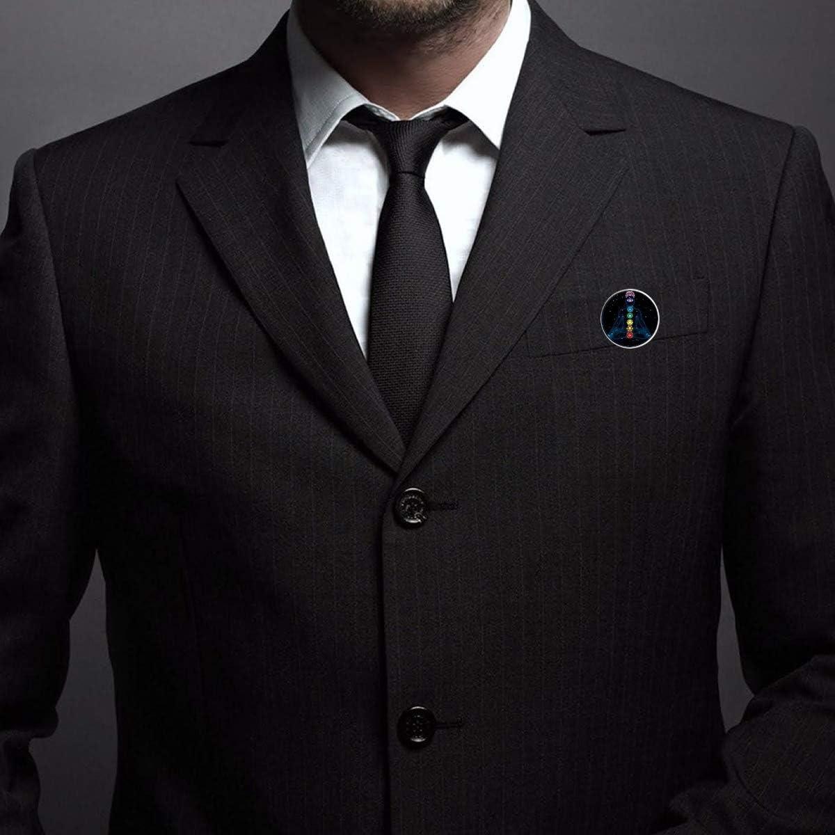 Pinback Buttons Badges Pins Reiki Chakra Healing Yoga Lapel Pin Brooch Clip Trendy Accessory Jacket T-Shirt Bag Hat Shoe