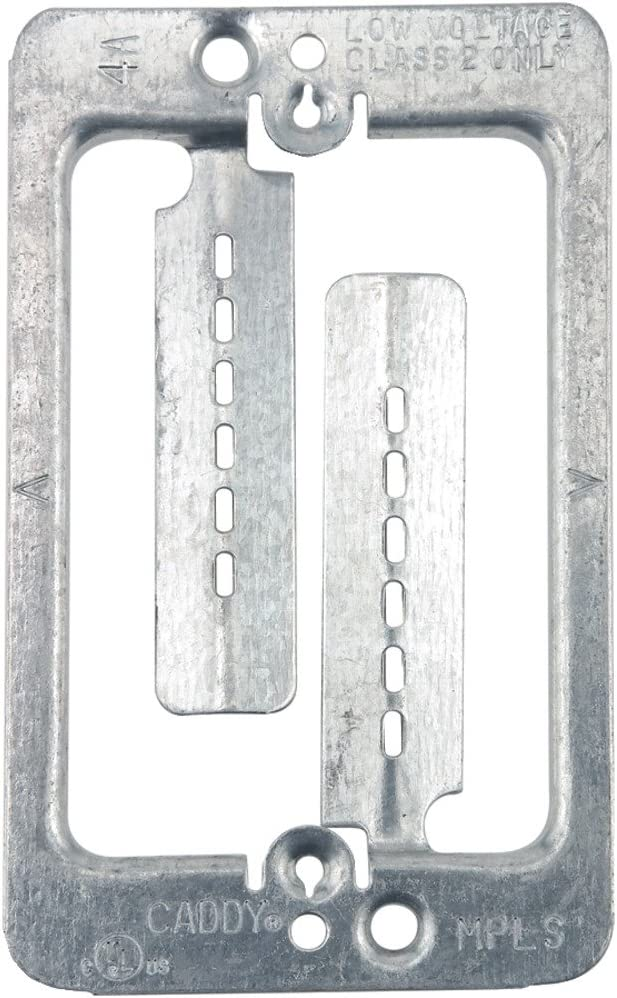 MPLS CADDY MPLS Metal Single Gang Drywall Mounting Plate