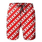 confirm vt Quick-Dry Redesign Canada Flag Men's Swim Trunks Beach Board Shorts Surfing Shorts Bathing Suits Swimwear