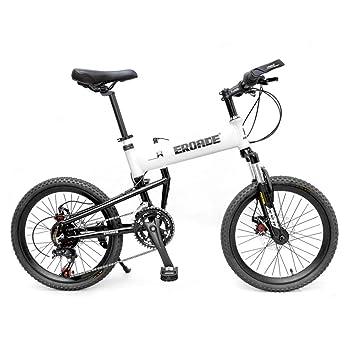 """LETFF Bicicleta Plegable para Adultos De 20"""", Cambio De Velocidad 14 Aleación De Aluminio"""