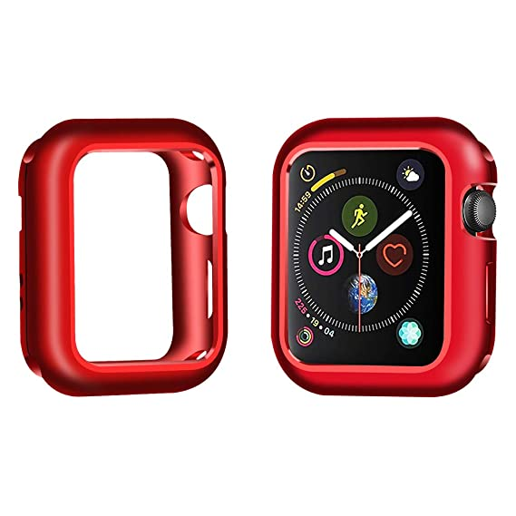 Amazon.com: Compatible Apple Watch Case 42mm, DECVO Aluminum ...