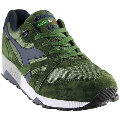 f77aa960da Diadora Mens N9000 Italia Casual Athletic & Sneakers Green