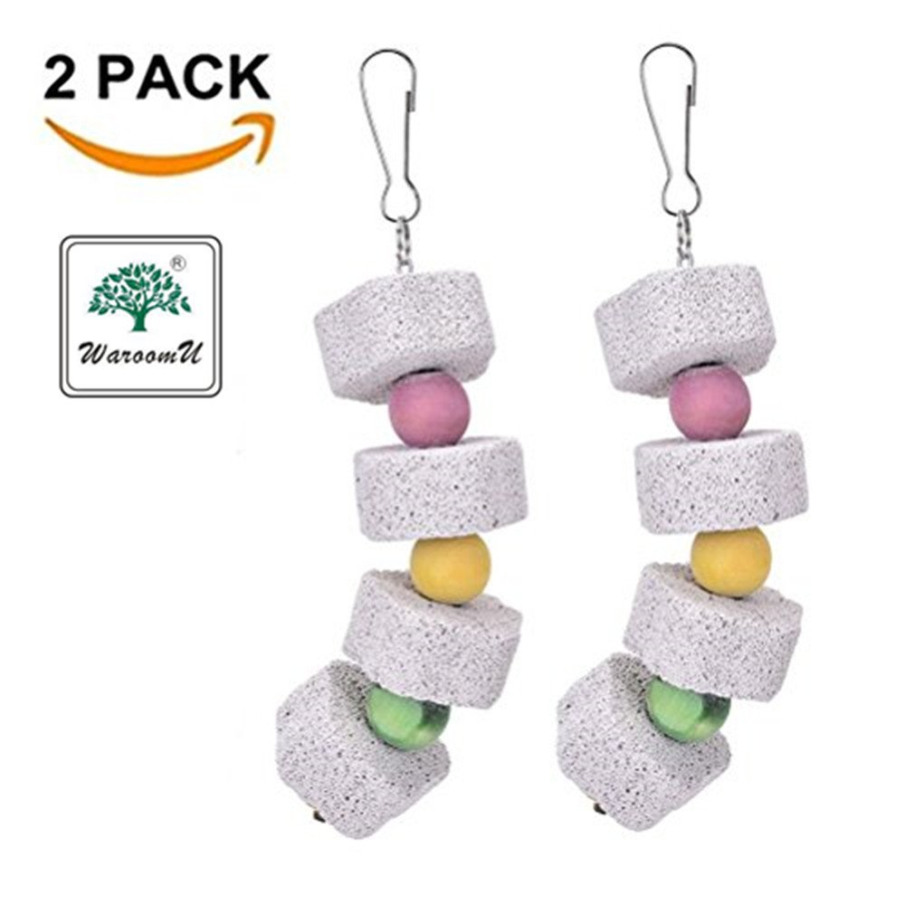 Small Animal Parrot Bird Grinding Stones Bird Parrot Chew Toy Teeth Shred