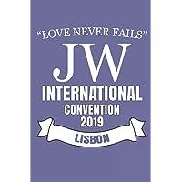Love Never Fails JW International Convention 2019 Lisbon: JW Gifts International Convention