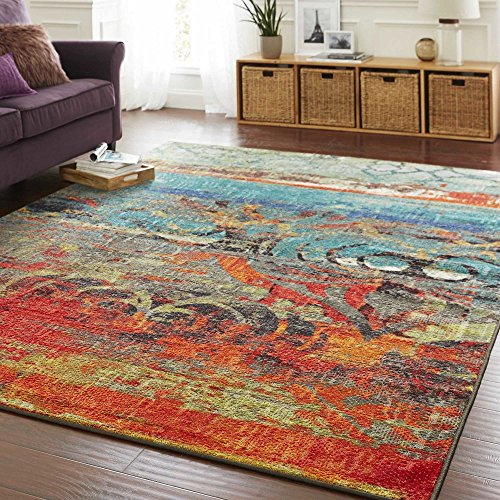 The Curated Nomad Vallejo Eroded Color Area Rug Set
