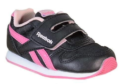 06fafee9 Reebok - Reebok Royal Cl Jogger Kc Zapatos Deportivos Niña Negro Cuero  Tejido V52825 - Negro, 23,5: Amazon.es: Zapatos y complementos