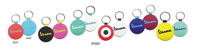 Llavero en silicona de Vespa, producto original, varios ...
