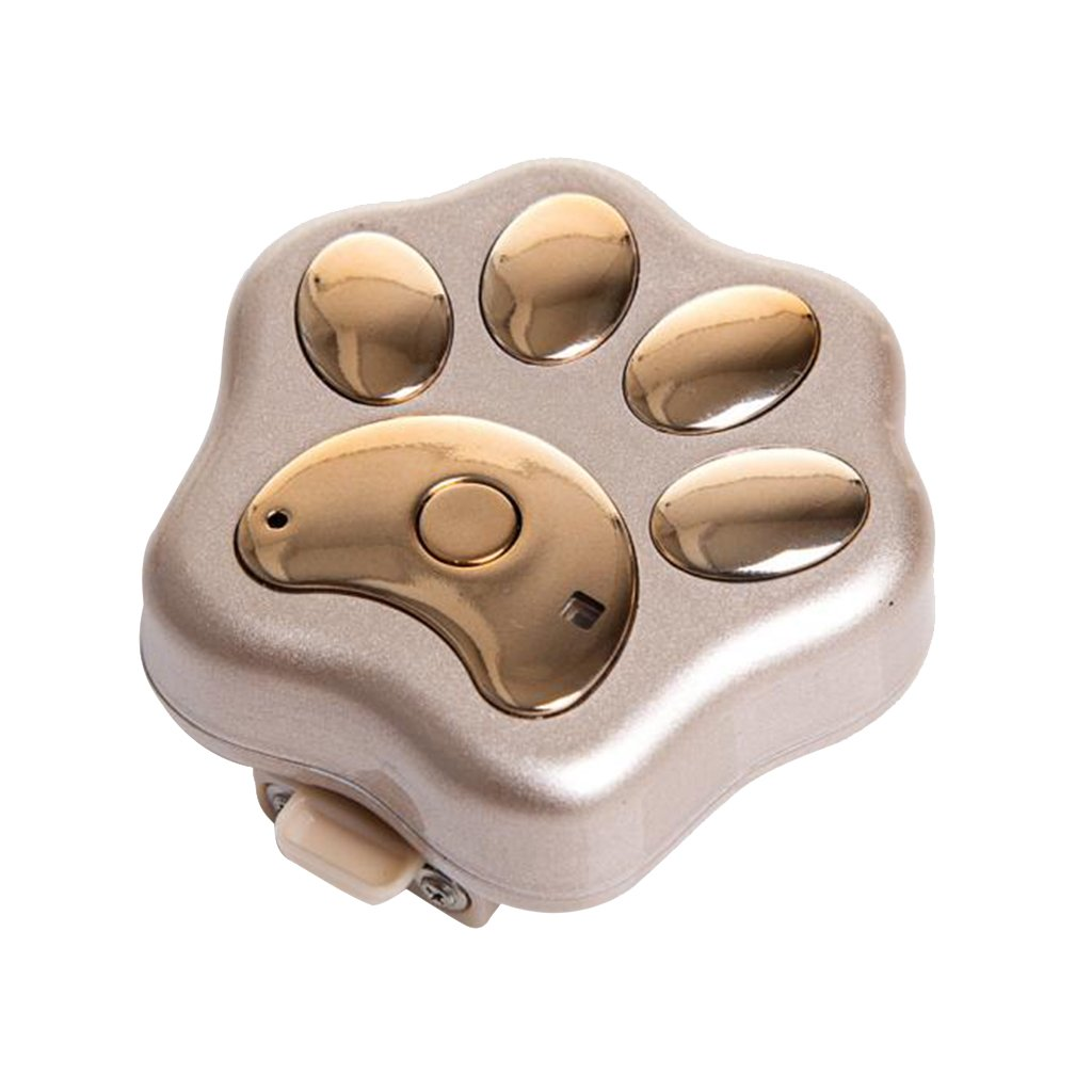 Homyl Fashion 3G/GSM/WIFI GPS Dog Tracker for PET Dog GPS Tracker Locator - Real Time Tracking - Support Computer / Mobile Phone / SMS / Micro Channel to Locate the Platform Query - Gold