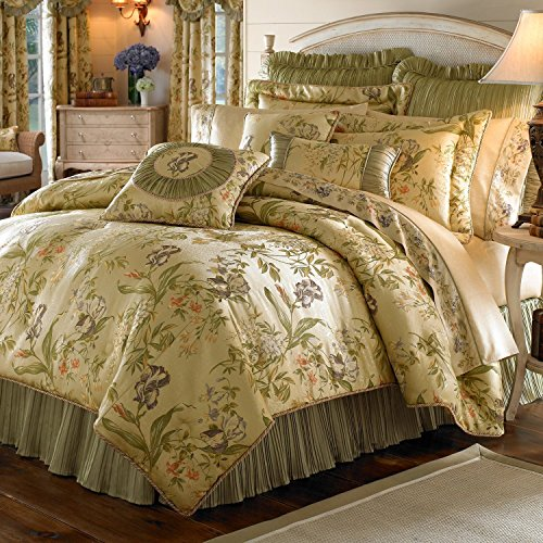 - Croscill Iris Collection 6-piece King Comforter and Pillow Set