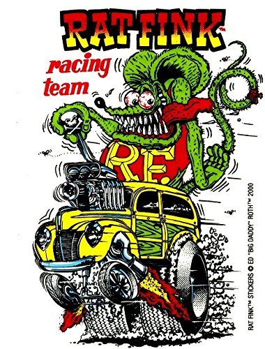 (Ed Big Daddy Roth Rat Fink Racing Team by)