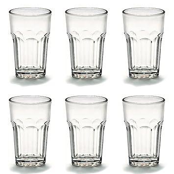 3b08927a986951 Viva Haushaltswaren - 6 x bruchfestes Latte Macchiato Glas 300 ml ...