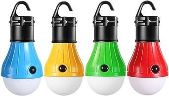 Portable LED Lanterne ampoule de lumi/ère de tente pour camping randonn/ée P/êche lumi/ère durgence