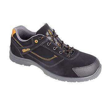 Beta, 7214 FN Action - Zapatos de seguridad, nobuk, impermeable, puntera anti abrasión, Eur 43