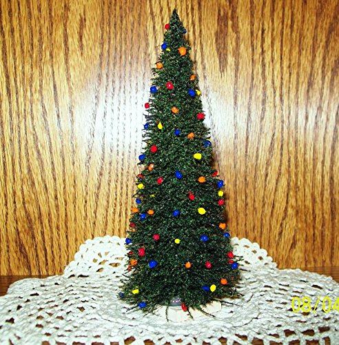 "MINIATURE HOLIDAY CHRISTMAS TREE - 7"" Tall"