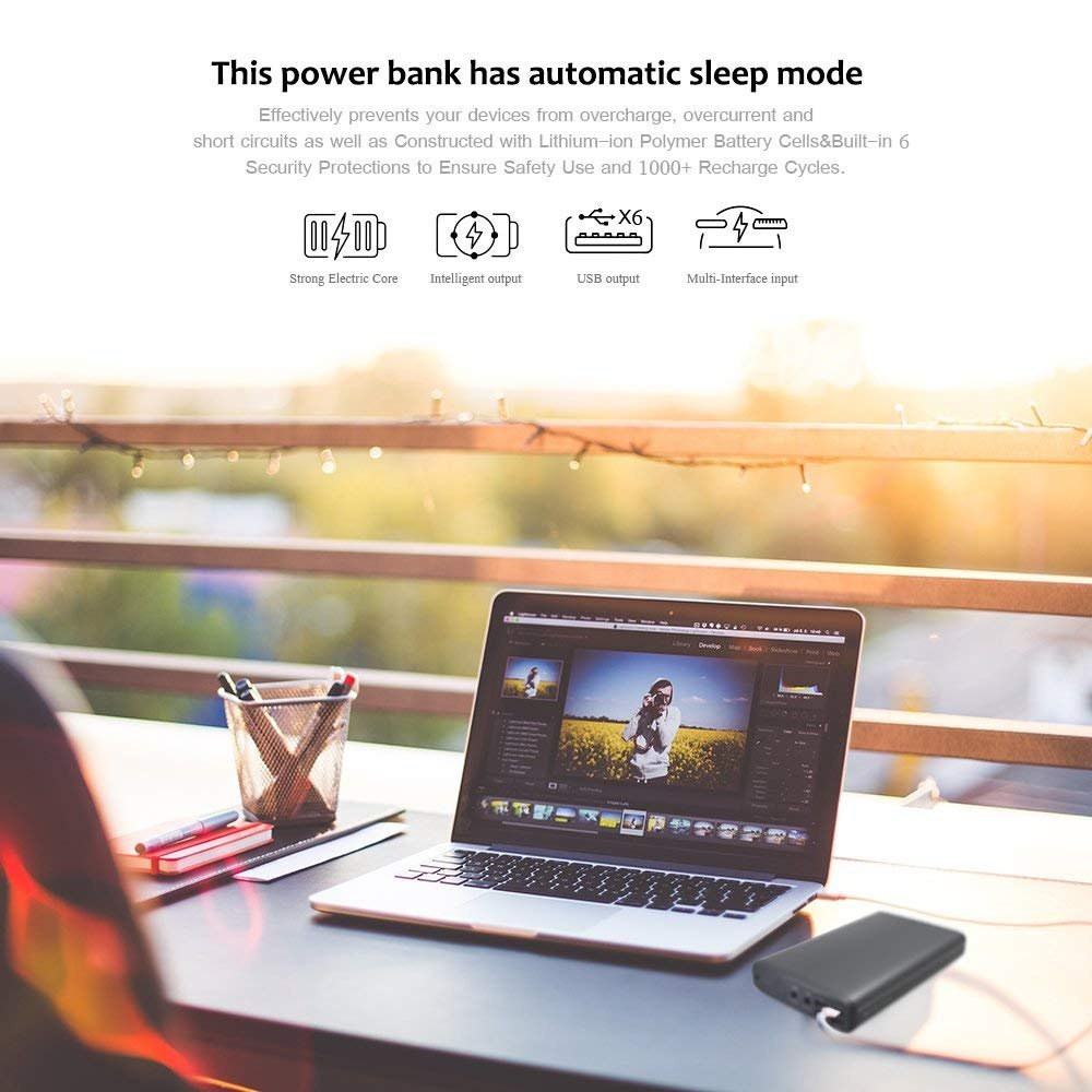 Poweroak Laptops External Battery Charger Ultra High Re Charging A Car With Computer Power Supply Capacity 50000mah Pack 5 12 20vportable Bank For Laptopnotebook Most Of