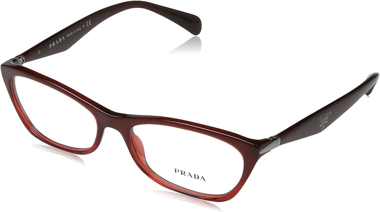 bf27c35877 Amazon.com  Prada Women s PR 15PV Eyeglasses 55mm  Shoes