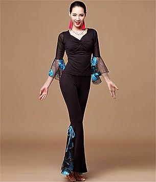 peiwen Mujer Moderna de Baile Funcionamiento de la Ropa ...