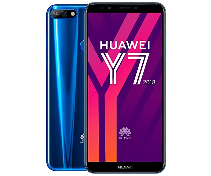 Image result for huawei y7 2018 blue