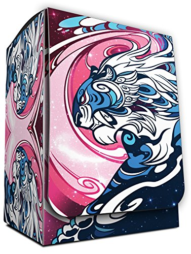 GALAXY TIGER - DEFENDERS of the UNIVERSE 1 DECK BOX by MAX PRO (fits Magic / MTG, Pokemon Cards) (Max Pro Deck Box)