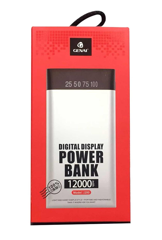 Genai J200 Original 12000 Mah High Capacity Polymer Battery Baterai Samsung Galaxy Note 3 100 Powerbank With 2 Usb Output Slots