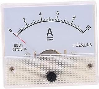 Morza DC analogico Amperometro Pannello 10A AMP Gauge Tester Corrente Meccanici Pointer Amperometri 85C1